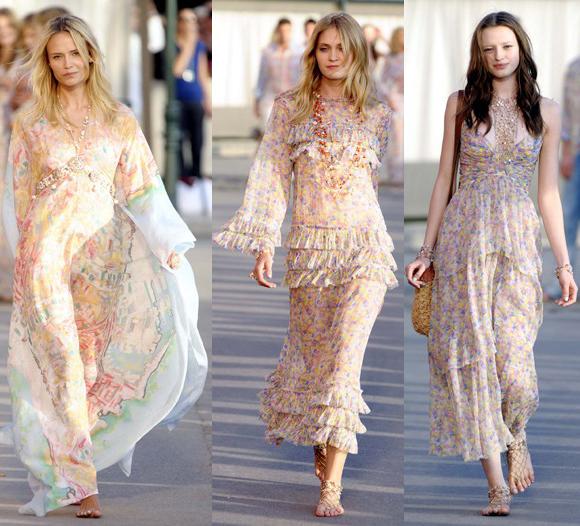 lindos vestidos com estampas florais